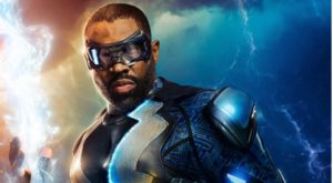 photo of Cress Williams as Black Lightning on the CW. Photo courtesy of the CW Network.